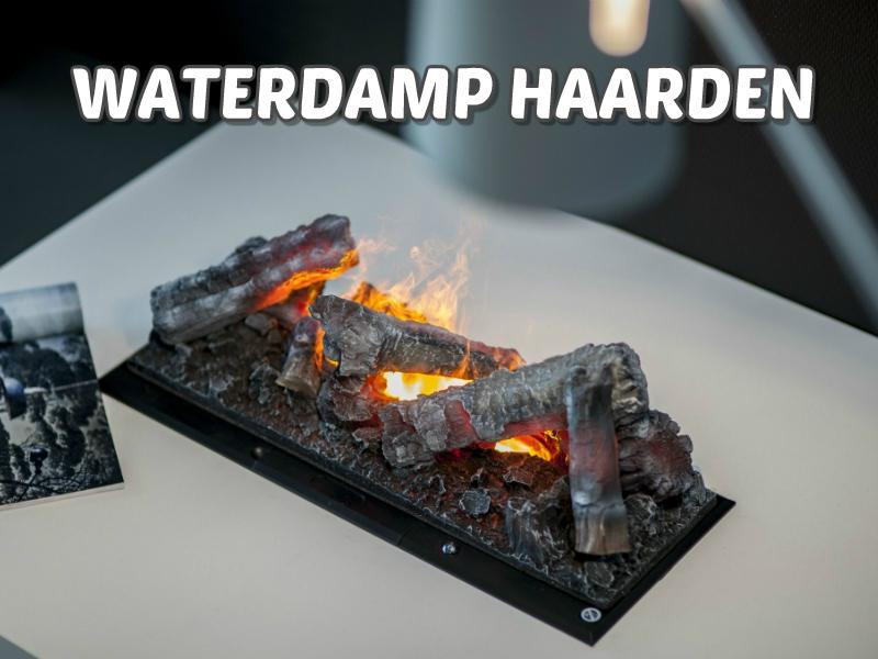 waterdamp haarden met led verlichting